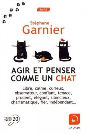 Agir et penser comme un chat Saison 1  [EDITION EN GROS CARACTERES - de la loupe - 9782848687582 -